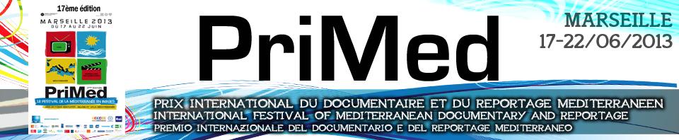 21 juin 2013 : présentation de MedMem lors de PRIMED - Prix international du documentaire et du reportage méditerranéen 2013